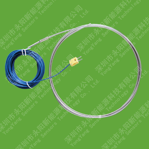 Thermocouple Probes with Lead Wire Transition